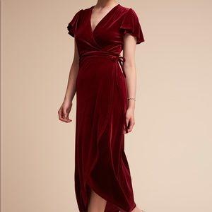 BHLDN Thrive Wrap Dress